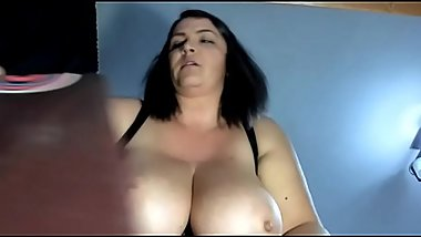 Huge tits bbw hairy pussy play see more on Gushcams.com