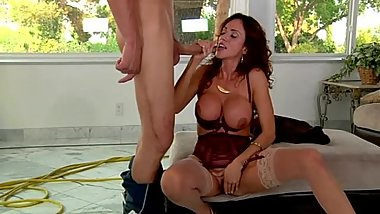 Ariella Ferrera gets her sweet milf pussy fucked properly!