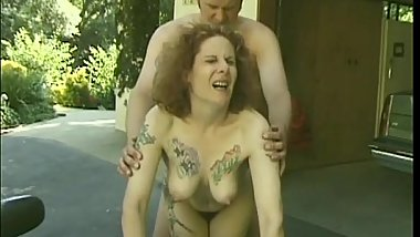 Kinky Mature Diana Roth Getting Fuck Outdoor