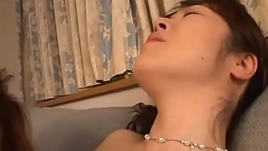 Mature bitch gets big tits and hairy ribald cleft played in closeup