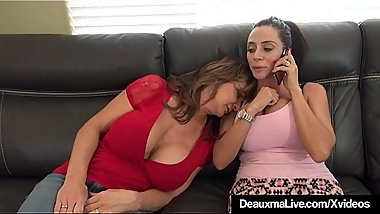 Cougar Deauxma Drugged &amp_ Abused By Arielle Ferrara &amp_ 2 Men!