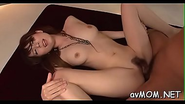 Hairy wet snatch mom takes two dildos to her clit making her moan