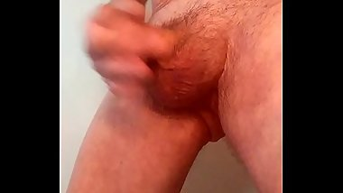 WANKING WITH CUMSHOT
