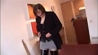 Best Mom ThighBoots and Hairy Cunt POV. See pt2 at goddessheelsonline.co.uk