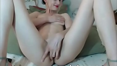 Beauty Skinny Mature With Hairy Pussy Fingering
