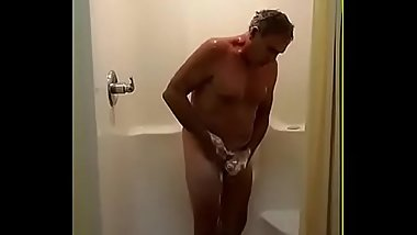 Jim Taking a Shower