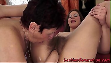 Teens hairypussy licked and fisted