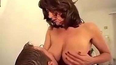 Sexy german mother wants son'_s cock BIG TITS