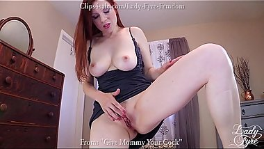 Lady Fyre MILF Creampie and POV