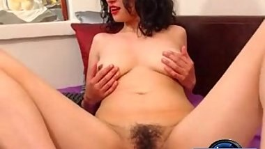 [moistcam.com] Hot mature pleasures her hairy cunt! [free xxx cam]