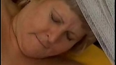 Horny granny enjoy hard mature sex